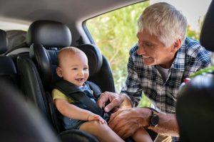 Sicurezza in auto del bambino